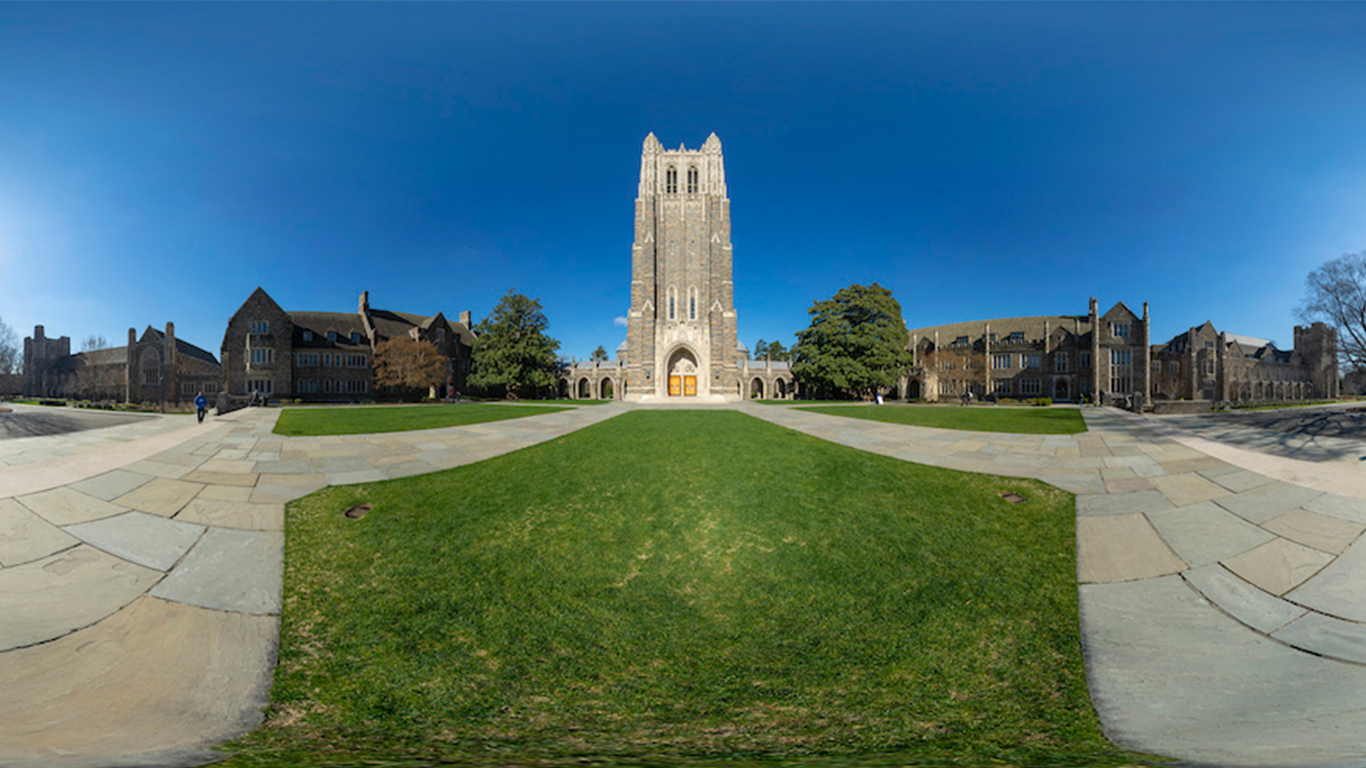 Panorama of the Duke Chapel. Image credit: Luca Vascon