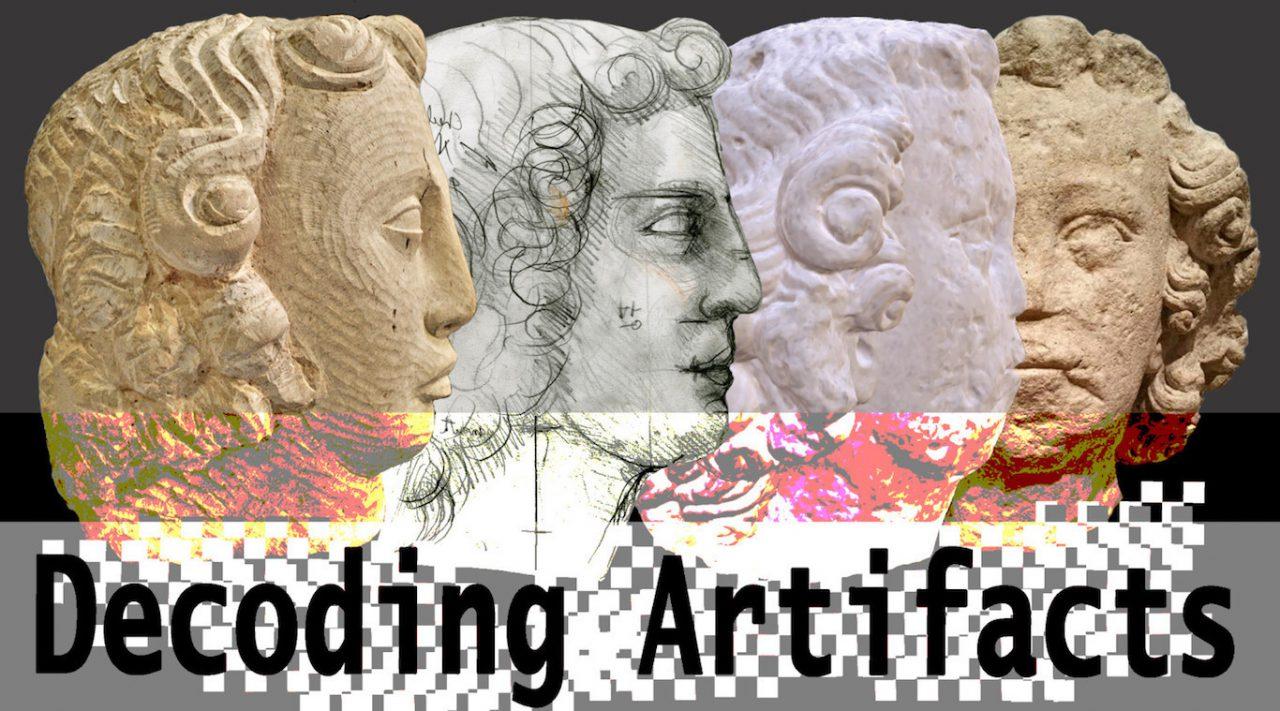 Decoding Artifacts. Image Credit: Jessica Pissini & Simon Verity